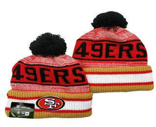 San Francisco 49ers Beanies Hat YD