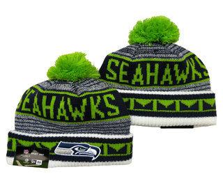 Seattle Seahawks Beanies Hat YD