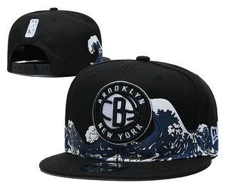 Brooklyn Nets Snapback Ajustable Cap Hat YD