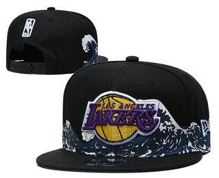 Men's Los Angeles Lakers Snapback Ajustable Cap Hat