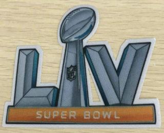 2021 Super Bowl LV Rubber Patch