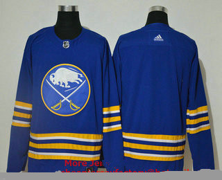 Men's Buffalo Sabres Blank Blue Adidas 2020-21 Alternate Authentic Player NHL Jersey