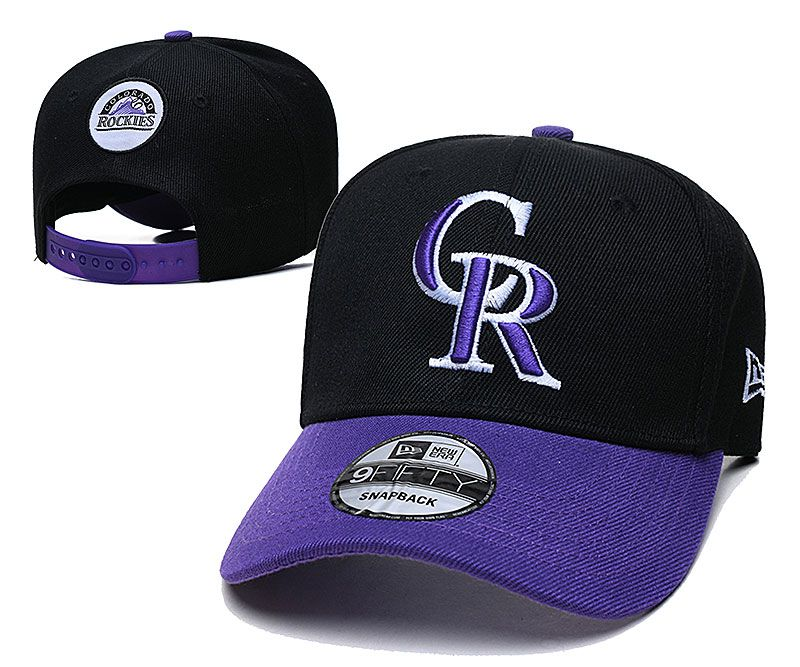 2021 MLB Colorado Rockies Hat TX326