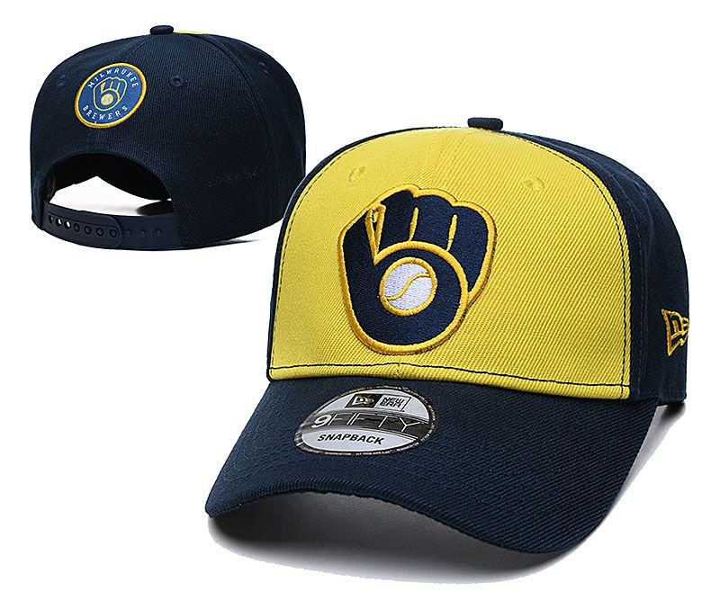 2021 MLB Milwaukee Brewers Hat TX326