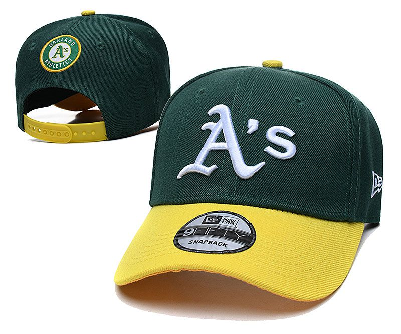 2021 MLB Oakland Athletics Hat TX326