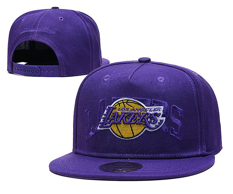 2021 NBA Los Angeles Lakers Hat TX326