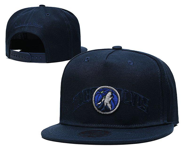 2021 NBA Minnesota Timberwolves Hat TX326
