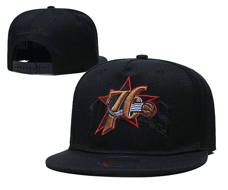 2021 NBA Philadelphia 76ers Hat TX326