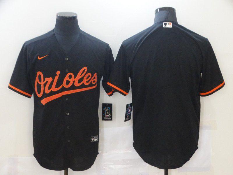 Men Baltimore Orioles Blank Black Game Nike MLB Jerseys