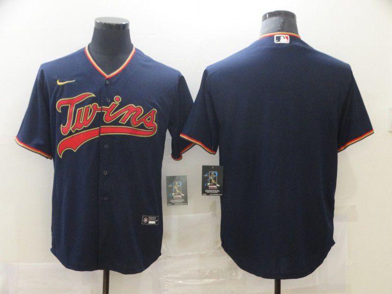 Men Minnesota Twins Blank blue Game Nike MLB Jerseys