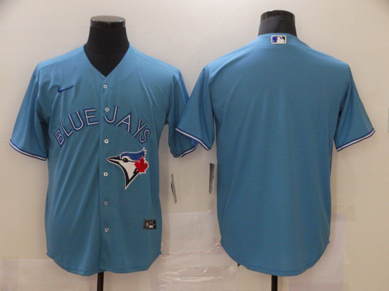 Men Toronto Blue Jays Blank Light blue Game Nike MLB Jerseys
