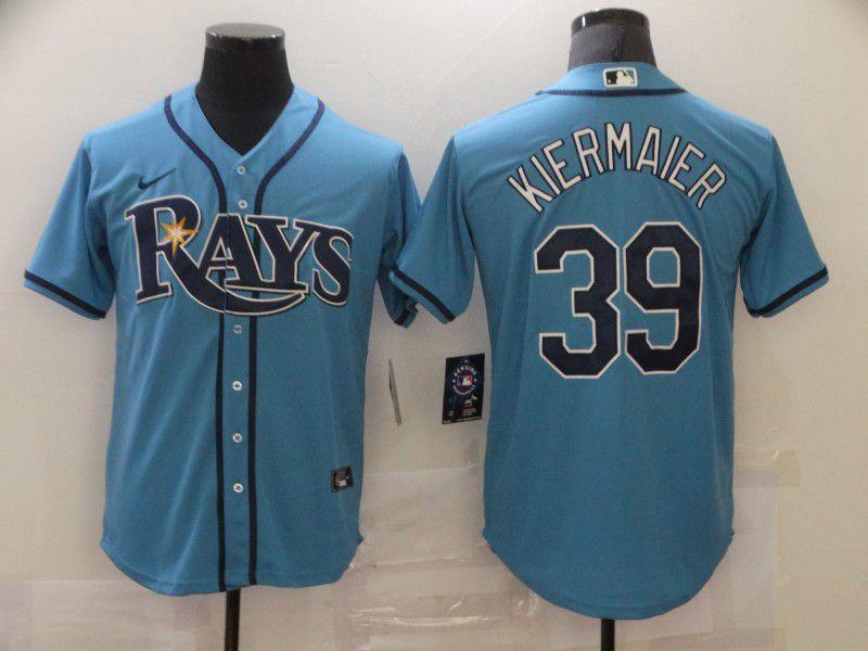 Men's Tampa Bay Rays #39 Kevin Kiermaier Light Blue Stitched MLB Cool Base Nike Jersey