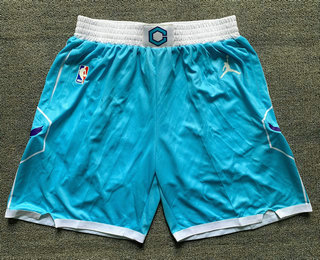 Men's Charlotte Hornets Blue 2021 Brand Jordan City Edition Swingman Shorts
