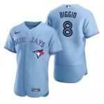 MLB Toronto Blue Jays #8 Cavan Biggio sky Blue 2020 Nike FlexBase Jersey