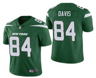 Men's New York Jets #84 Corey Davis Green 2021 Vapor Untouchable Stitched NFL Nike Limited Jersey