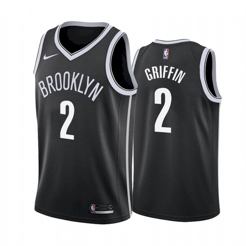 Youth Brooklyn Nets #2 Blake Griffin Black Stitched 2021 Jersey