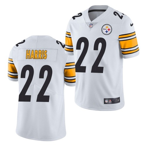 Men's Pittsburgh Steelers #22 Najee Harris White 2021 Limited Football Jersey
