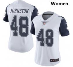 Women Dallas Cowboys #48 Daryl Johnston Nike Rush Limited Jersey