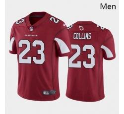 Men Arizona Cardinals #23 Zaven Collins Red White Black 2021 Draft Jersey