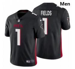 Men Atlanta Falcons #1 Justin Fields Black 2021 Draft Jersey