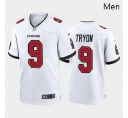 Men Tampa Bay Buccaneers #9 Joe Tryon Red White 2021 Draft Jersey