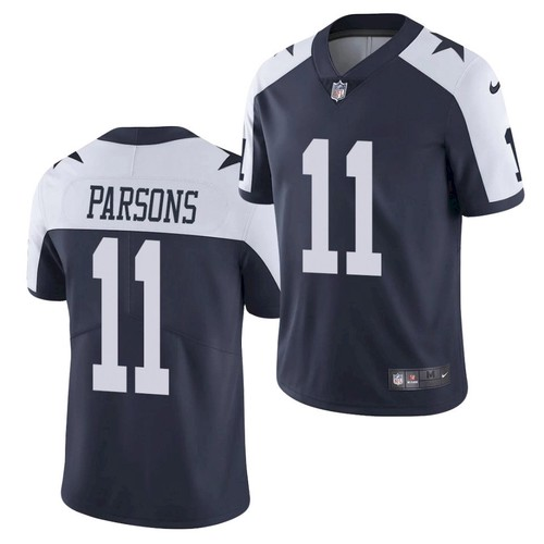 Dallas Cowboys #11 Micah Parsons Jersey Navy 2021 Alternate Limited