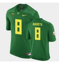 Men Oregon Ducks Marcus Mariota Replica Green Game Football Jersey