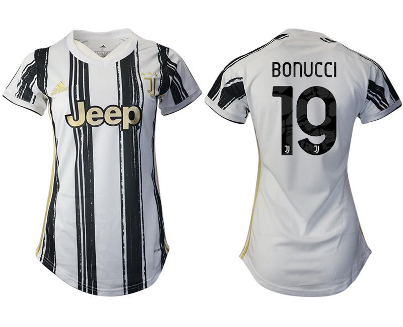 Women 2020-2021 Juventus home aaa version 19 white Soccer Jerseys