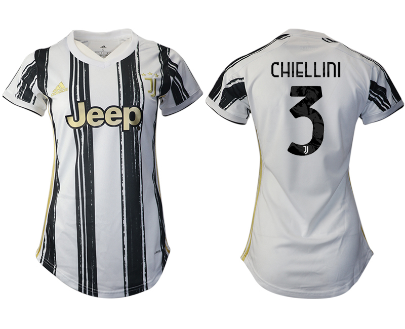 Women 2020-2021 Juventus home aaa version 3 white Soccer Jerseys