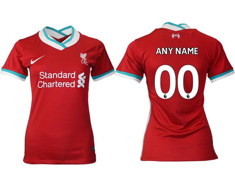 Women 2020-2021 Liverpool home aaa version customized red Soccer Jerseys