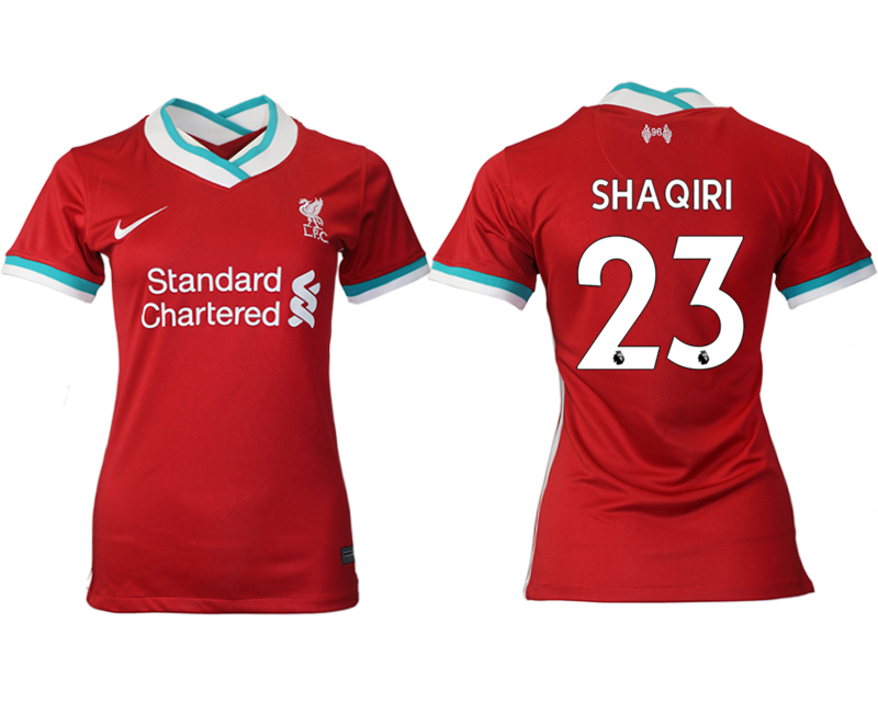 Women 2020-2021 Liverpool home aaa version 23 red Soccer Jerseys