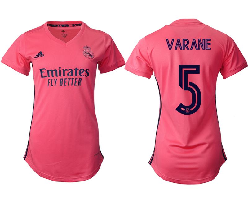 2021 Real Madrid away aaa version women 5 soccer jerseys