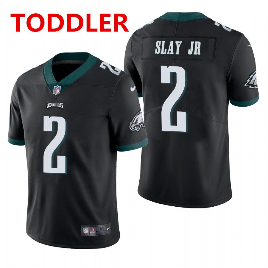 toddler philadelphia eagles #2 darius slay jr. black vapor limited Nike jersey