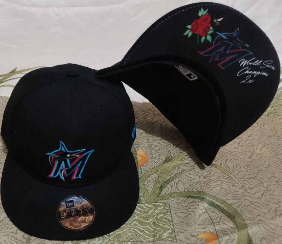 2021 MLB Miami Marlins Hat GSMY610