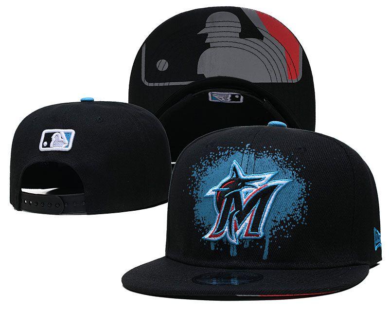 2021 MLB Miami Marlins Hat GSMY 0725
