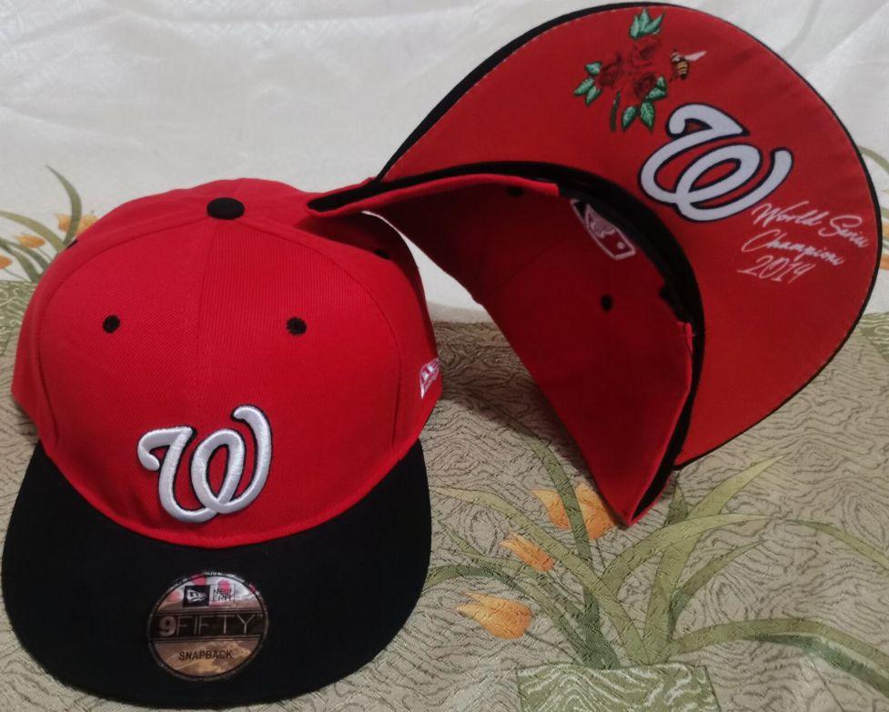 2021 MLB Washington Nationals Hat GSMY610