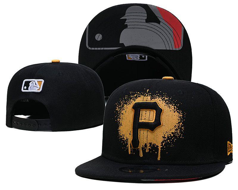 2021 MLB Pittsburgh Pirates Hat GSMY 0725