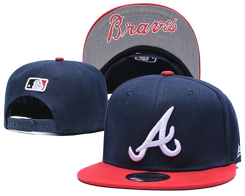 MLB 2021 Atlanta Braves hat GSMY