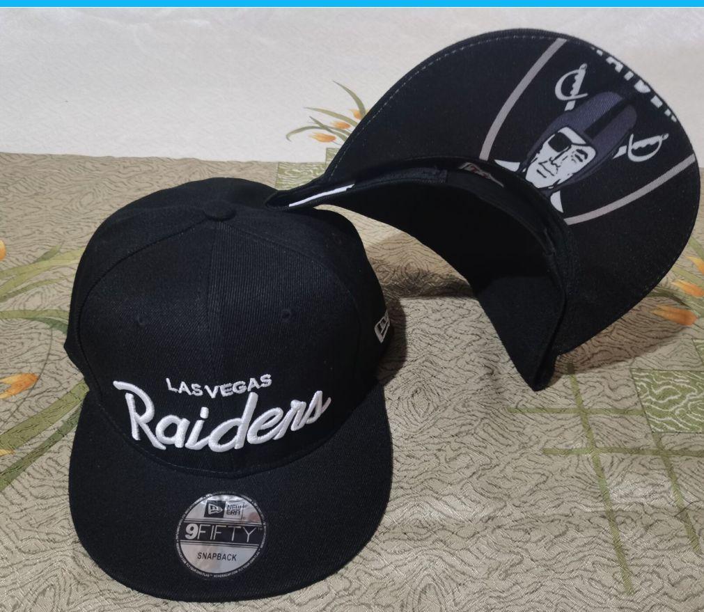 2021 NFL Oakland Raiders Hat GSMY 08113