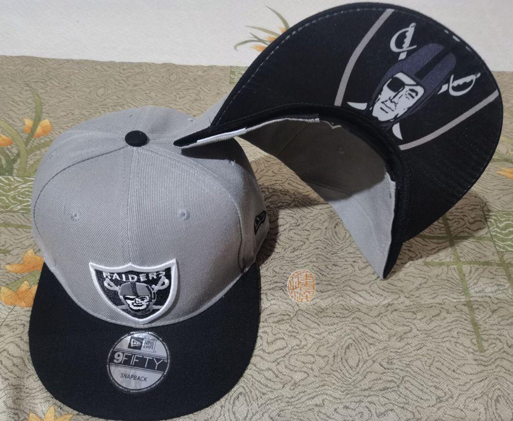 2021 NFL Oakland Raiders Hat GSMY 08112
