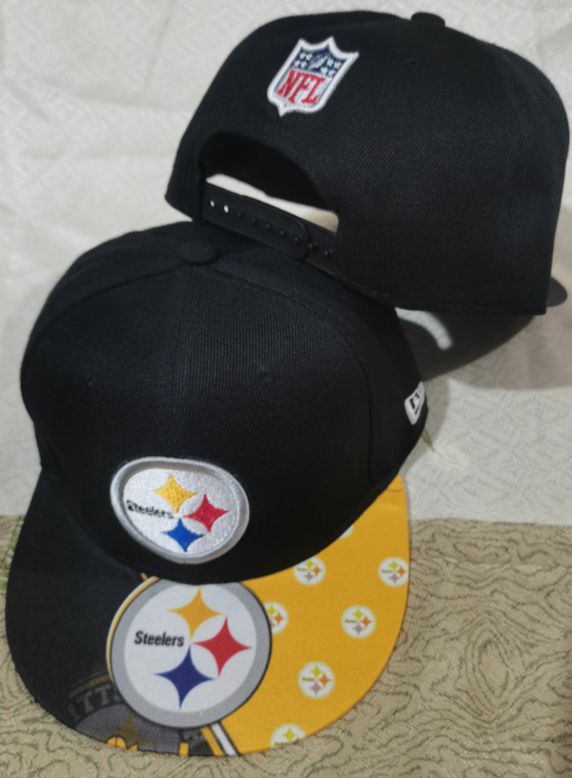 2021 NFL Pittsburgh Steelers Hat GSMY 0811