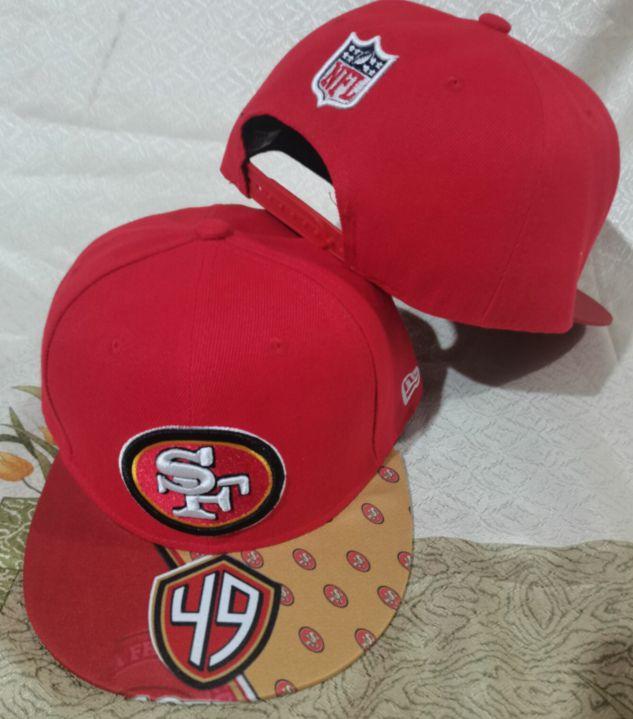 2021 NFL San Francisco 49ers Hat GSMY 08111