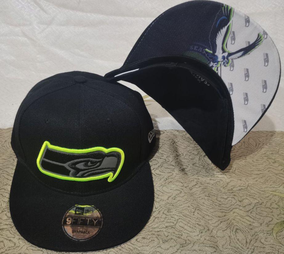 2021 NFL Seattle Seahawks Hat GSMY 0811