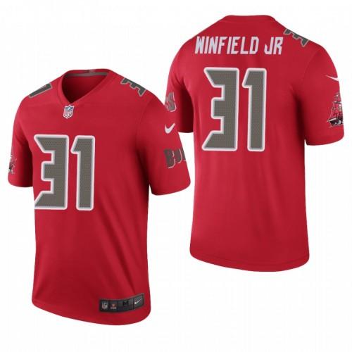 Men's Tampa Bay Buccaneers #31 Antoine Winfield Jr Color Rush Red Jersey