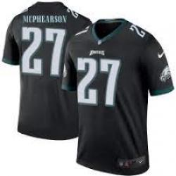 Men Philadelphia Eagles #27 Zech McPhearson Vapor Limited Black Jersey