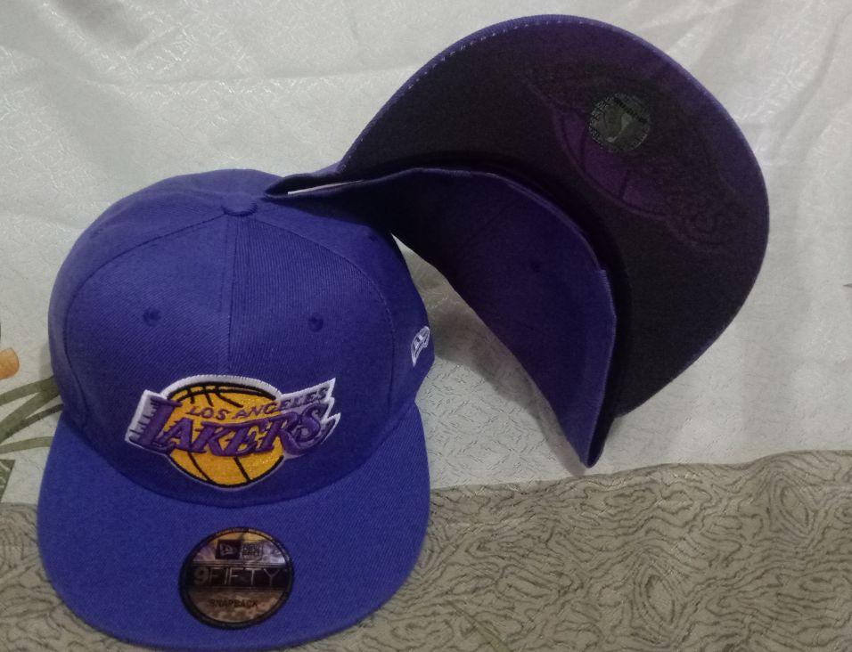 2021 NBA Los Angeles Lakers Hat GSMY610
