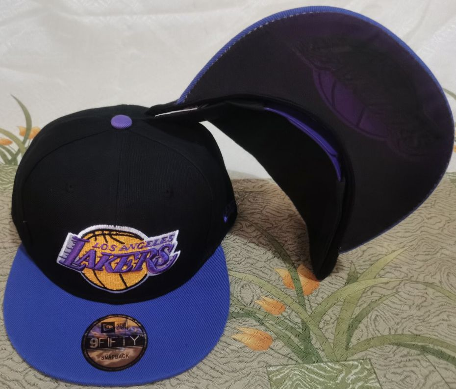 2021 NBA Los Angeles Lakers Hat GSMY6101