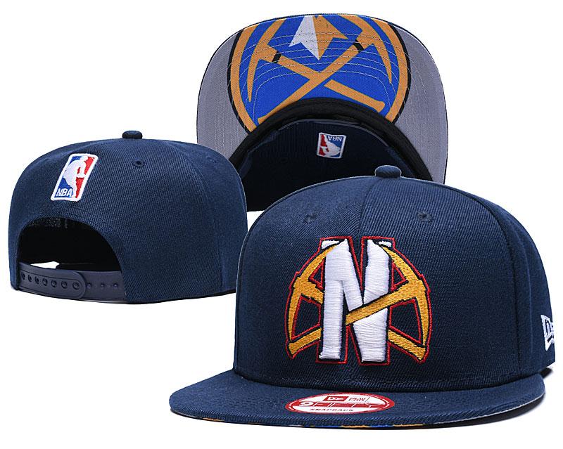 2021 NBA Denver Nuggets Hat GSMY407