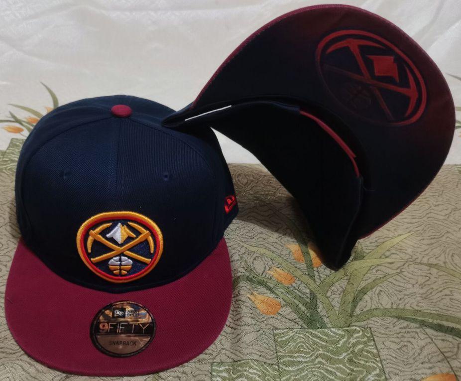 2021 NBA Denver Nuggets Hat GSMY610