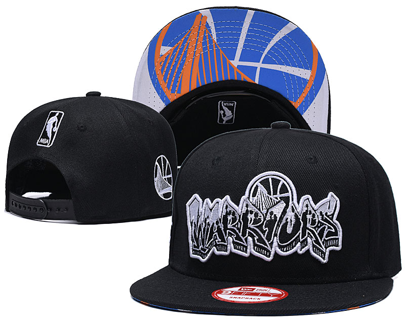 2021 NBA Golden State Warriors Hat GSMY407